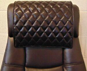 "14""x30"" DARK BROWN Recliner, leather damage, sofa, arm rest, furniture protector"