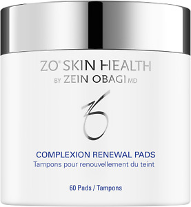 Zo Skin Health By Zein Obagi Complexion Renewal 60 Pads Brand New Boxed