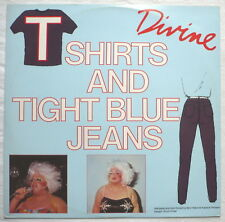 "DIVINE-T Shirts and Blue Jeans - 12""-maxi"