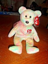 Ty Beanie Baby Bear - Celebrate 2001 - Hang Protected - Excellent Condition