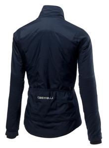 Castelli Cycling Women Elemento Lite W Jacket Dark Infinity Blue Small S