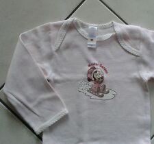 C+A ✿ Minnie Mouse Body 86 92 ✿ Unterwäsche Disney Weiß Rosa Maus Langarmbody