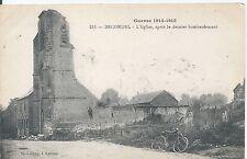 Postcard - World War 1 Becordel France