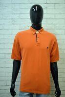 Polo Uomo TOMMY HILFIGER Taglia XXL Maglia Manica Corta Herrenhemd Shirt Man