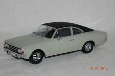 Opel Rekord C Coupe 1966 grau schwarz Resin 1:18 Minichamps neu + OVP 107047022