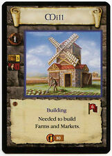 Mill (4) - Age Of Empires ECG CCG Card (C96)