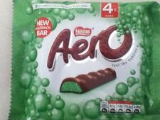 PACK OF 4 AERO PEPPERMINT MILK CHOCOLATE BARS, BRITISH CHOCOLATE, SHIP WORLDWIDE