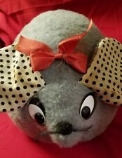 Commonwealth Toy Co. Big Fat Rat Vtg 1970's Tag attached.