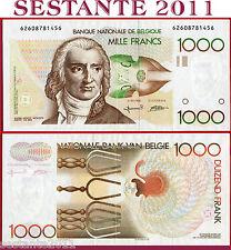 BELGIUM  BELGIO  -  1.000 1000 FRANCS nd 1980   - P 144  - SPL+ /XF