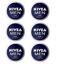 6pz NIVEA MEN CREME crema viso mani corpo 75ml pelle uomo idrata e protegge