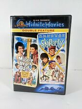 Muscle Beach Party/Ski Party (DVD, 2003)