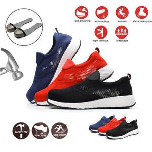 S3 Scarpe antinfortunistica da lavoro Uomo Donna  leggere traspirante Sneakers