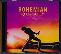 Queen Bohemian Rhapsody Original Soundtrack CD NEW Live Aid