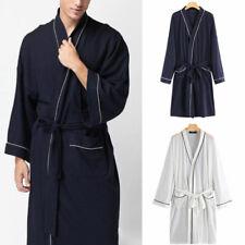 Mens Women Comfy Shower Bathrobe Nightwear Sleepwear Dressing Gown Terry Towel