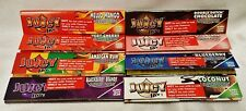 Pick 6 JUICY JAY'S King Size Slim Cigarette Rolling Papers 8 Different Flavors