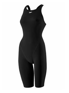 Speedo Powerplus Kneeskin Black Bodysuit Girl's 3691 Size 6/22