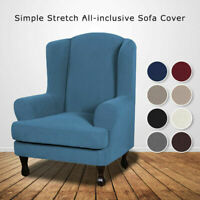 Recliner Chair Covers Slipcovers Sofa Stretch Wing Back Armchair Wingback Cover