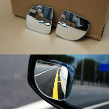 Car Rearview Mirror Blind Spot Side Convex View Wide Angle 360° Adjustable Parts
