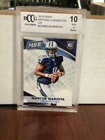 MARCUS MARIOTA 2015 PANINI NATIONAL CONVENTION VIP RC ROOKIE BGS 10