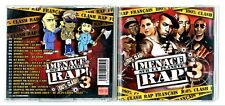 CD RAP FRANCAIS ★ MENACE SUR LA PLANETE RAP 3 - COMPILATION ★ ALBUM 2007