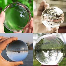 Asian Rare Natural Quartz Clear Magic Crystal Healing Ball Sphere 50mm+ Stand