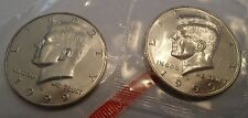 1999 P & D Kennedy Half Dollar Set (2 Coins) *MINT CELLO*  **FREE SHIPPING**