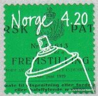 Norwegen 1354 (kompl.Ausg.) gestempelt 2000 Erfindungen