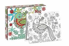 GIFT OF PEACE - COLORING BOXED CHRISTMAS CARDS - BRAND NEW - 18 PACK - 1004783
