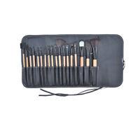 18pcs Pro Cosmetic Makeup Brush Set Eyebrow Lip EyeShadow Tools + Cosmetics Bag
