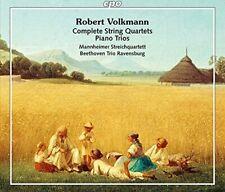 Mannheimer Streichquartett - Robert Volkmann: Complete String [CD]