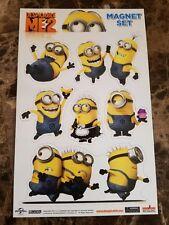 Despicable Me 2 Kids Movie 6 PC Minion Magnet Set FREE 3.99 Air Freshener