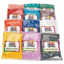 Fine Terrarium Sand 24-lbs - 12 Colors pack of 12
