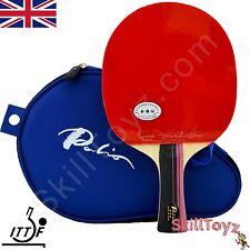 PALIO 3 Star Professional tennis de table chauve-souris AK47 Biotech Plus 2 FREE PROTECTIONS!