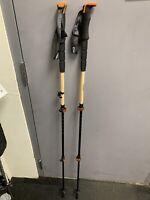 2020 Switcbak Bamboo/Carbon ski pole | Adjustable: 110-135cm
