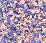 Pink Lilac Real Delphinium WEDDING CONFETTI Flutter Fall Natural Biodegradable