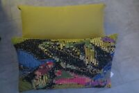 "BRAND NEW HARLEQUIN CUSHION COVER & FEATHER INNER ""Congo"" 60 cm x 35 cm"
