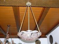 Art Deco Lampe Deckenlampe Original ca. 1925  Frankreich