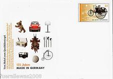 Deutschland Ganzsache MADE IN GERMANY VW Käfer Versand Portogerecht + Tagesstpl.