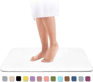 Absorbent Memory Foam Bath soft Mat Luxurious shower rug nonslip Carpet bathroom