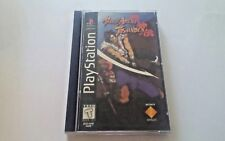 Sony Playstation 1 PS1 Battle Areana Toshinden Long Box 1995 Video Game