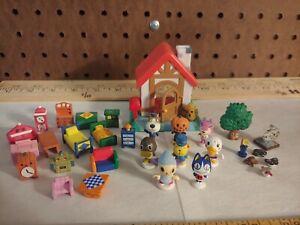 Animal Crossing Lets Make a Forest Figures Vintage 90's Toys Dobutsu no Mori