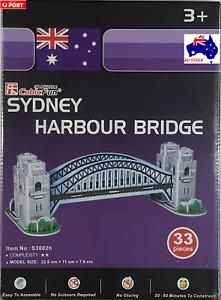 3D Sydney Harbour Bridge Puzzle - 33 Pieces