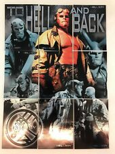 HELLBOY THE MOVIE (Inkworks/2004) Complete TO HELL AND BACK Foil Chase Card Set