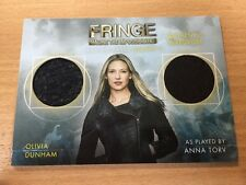 Fringe Season 5 DM2 - 071/100 Olivia Dunham As Anna Torv Dual Wadrobe Card