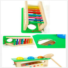 Wood Knock Ball Percussion Punch Drop Music Instruments Hammer Infants Toys BS