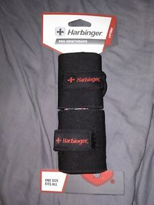 "BRAND NEW 20"" Length Harbinger Pro Wrist Wraps ~ One Size Fits All ~ For Lifting"