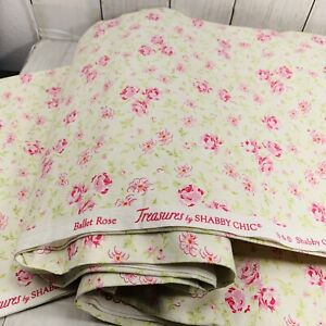Five Yards Fabric Ballet Rose Treasures By Shabby Chic 100% Cotton Pink Flowers