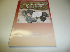 How Do You Know That's a Tooth Nearing the Summit Lloyd Mattson Book 6 signed