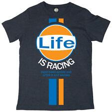 batch1' la vida es Carreras ' Hombre Camiseta - Steve McQueen vintage retro