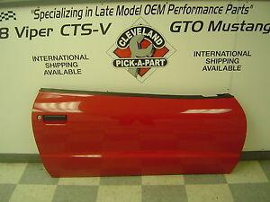 1993-2002 Pontiac Firebird Trans Am OEM Right Passenger Front Door Assembly Red